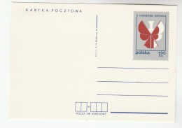 1974 POLAND Postal STATIONERY Card ZBoWiD WAR VETERANS CONGRESS  Cover Stamps Wwii - 2. Weltkrieg