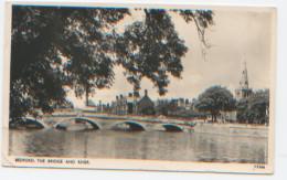 Angleterre, Bedford, Bridge And River, RéF. : V3366, Dos Divisé, A Circulé En 1952, Ed. Photochrom & Co - Bedford