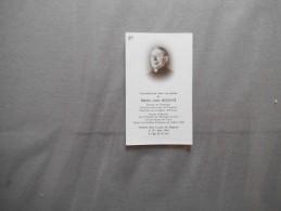 MAÎTRE JULES BOUCHE CHANOINE HONORAIRE DE CAMBRAI DOYEN DE CLARY ARCHIPRÊTRE D'AVESNES DE 1940 A 1963 DECEDE LE 28/8/65 - Religion &  Esoterik