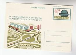 1965 POLAND Postal STATIONERY Card CHORZOW PLANETARIUM Cover Stamps Astronomy - Astronomy