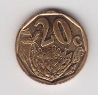 @Y@    Zuid Afika    20  Cent  2008      (3134) - Afrique Du Sud