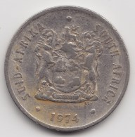 @Y@    Zuid Afika    20  Cent  1974      (3145) - Afrique Du Sud