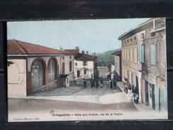 Z16 - 31 - Cintegabelle - Halle Aux Grains , Rue De La Treille - édition Honoré Lajaunie - 1912 - Otros Municipios