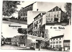 G684  RIEUPEYROUX  ET SES HOTELS 1963 - Other Municipalities