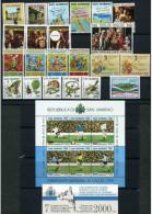 SAN MARINO - 1990 - Annata Completa - 23 Valori + 1 BF + 1 Libretto - Year Complete ** MNH/VF - San Marino