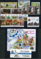 SAN MARINO - 1992 - Annata Completa - 21 Valori + 1 BF + 1 Libretto - Year Complete ** MNH/VF - San Marino