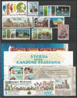 SAN MARINO - 1996 - Annata Completa - 22 Valori + 3 BF + 1 Libretto - Year Complete ** MNH/VF - Annate Complete