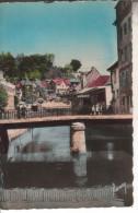 25A022B CPSM PF 25 - MONTBELIARD LA LIZAINE ET LE VIEUX PONT    1948 - Montbéliard