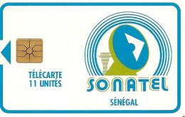 CARTE-PUCE-SENEGAL-11U-GEM A--SONATEL-UTILISE-TBE - Sénégal