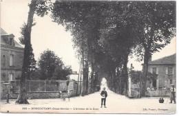 MONCOUTANT - L'avenue De La Gare - Moncoutant