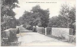 MONCOUTANT - Route De La Ronde - Moncoutant