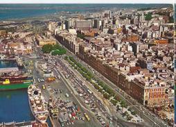 Cagliari - Via Roma E Panorama Parziale - Cagliari