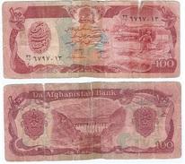 Afganistán - Afghanistan 100 Afghanis 1979 Pick 58a.2 Ref 942 - Afghanistán