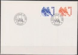 Schweden FDC 1979 Nr.1053 - 1054 Bandy ( D 3732 ) - FDC