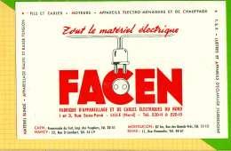 BUVARD & Blotting Paper :Le Materiel Electrique FACEN LILLE - Electricité & Gaz