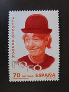 Espagne. 1998. Yvert  N° 3120 **. Effigie D'Alfonso Aragon. Le Clown Fofo. - 1991-00 Ungebraucht