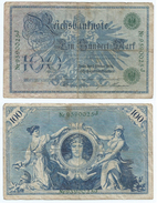 Alemania - Germany 100 Mark 1908 Nº Verdes Pick 34 Ref 31-5 - [ 2] 1871-1918 : Imperio Alemán