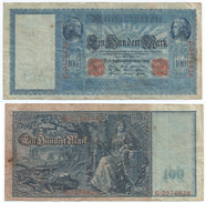 Alemania - Germany 100 Mark 1910 Pick 42 Ref 33-2 - [ 2] 1871-1918 : Imperio Alemán