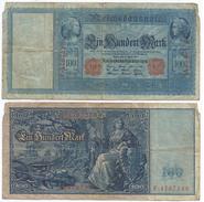 Alemania - Germany 100 Mark 1910 Pick 42 Ref 33-3 - [ 2] 1871-1918 : Imperio Alemán