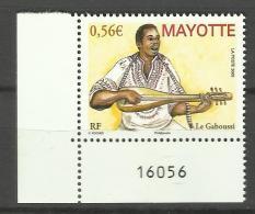 MAYOTTE 2009 MUSIC INSTRUMENT MNH - Mayotte (1892-2011)