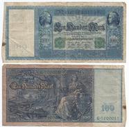 Alemania - Germany 100 Mark 1910 Pick 43 Ref 34-2 - [ 2] 1871-1918 : Imperio Alemán