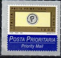 PIA -  ITALIA -  2000  : Posta Prioritaria  -   (SAS  2448) - 6. 1946-.. República