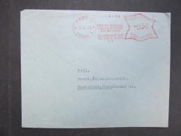 BRIEFPraha Ceskomoravsky Svaz Pro Drubez 1943  Frankotype Freistempel Postfreistempel  /// R7489 - Bohemia & Moravia