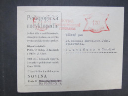 BRIEF Praha Novina 1941 Frankotype Freistempel Postfreistempel  /// R7500 - Böhmen Und Mähren