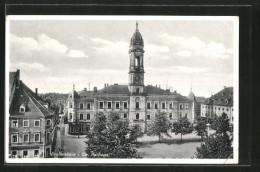 AK Grossenhain, Rathausansicht - Grossenhain