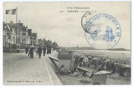 2291 - Paramé Côte D'Emeraude 1905 La Digue Cachet Hôpital Complémentaire 96 SAINT MALO Carré Pour Paris Valéry - Parame