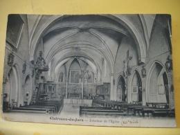 39 9305 - 39 CLAIRVAUX-DU-JURA - INTERIEUR DE L'EGLISE - 1937 - Clairvaux Les Lacs