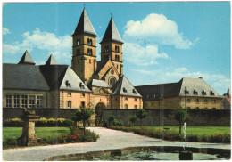 LUSSEMBURGO - LUXEMBOURG - 19?? - Missed Stamp + Flamme Echternach Pour Vos Vacances - La Basilique - Viaggiata Da Ec... - Echternach