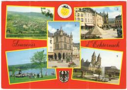 LUSSEMBURGO - LUXEMBOURG - 1996 - 100 300 Jahre Akademie Der Künste + Flamme TRIER Älteste Stadt Deutschlands - Souve... - Echternach