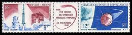 Space. New Caledonia 1966. Mi.418-9 MNH**
