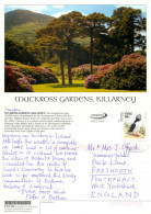 Muckross Gardens, Killarney, Kerry, Ireland Postcard Posted 2004 Stamp - Kerry