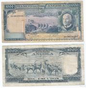 Angola 1.000 Escudos 1970 Pick 98 Ref 943 - Angola