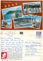 Bray, Wicklow, Ireland Postcard Posted 1990 Stamp - Wicklow