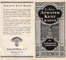 ECM Advertising - Atwater Kent Radio // Electrónia, Lda. // Porto // Portugal (Holed) - Reclame