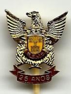 BEJA - 25 Anos - Bombeiros Voluntários - Alfinete De Lapela PIN Badge - PORTUGAL - Bomberos