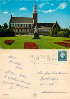 Gemeentehuis, Hoogeveen, Drenthe, Netherlands Postcard Posted 1989 Stamp - Hoogeveen