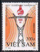 Vietnam SG1791 1993 500kv Electricity Lines 300d Good/fine Used [17/16214/4D] - Stamps