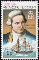 BRITISH ANTARTIC TERRITORY - Scott #45 Capt. Cook / Mint NH Stamp - British Antarctic Territory  (BAT)