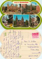 Amsterdam, Netherlands Postcard Posted 1982 Stamp - Amsterdam