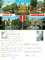 Amsterdam, Netherlands Postcard Posted 1992 Stamp - Amsterdam