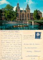 Rijksmuseum, Amsterdam, Netherlands Postcard Posted 1966 Stamp - Amsterdam