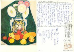 Leo Gestel, Art Painting Postcard Posted 1994 Stamp - Paintings