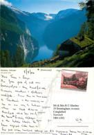 Blomberg, Geiranger, Norway Postcard Posted 2004 Stamp - Norvegia
