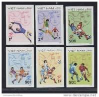 Vietnam Viet Nam MNH Imperf Stamps 1982 : World Cup In Spain / Picasso (Ms398) - Vietnam