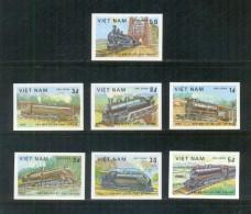Vietnam Viet Nam MNH Imperf Stamps 1983 : Locomotives / Train (Ms411) - Vietnam
