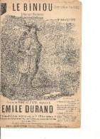 Partition - Le Biniou -- Paroles: Hipp Guerin -- Musique: Emile Durand - - Non Classés